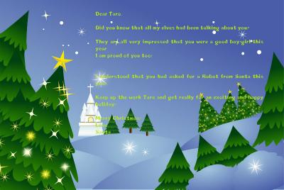 クリスマスカード例文 定番でシンプルなクリスマスメッセージ文例