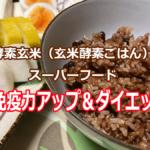 酵素玄米、玄米酵素ごはん